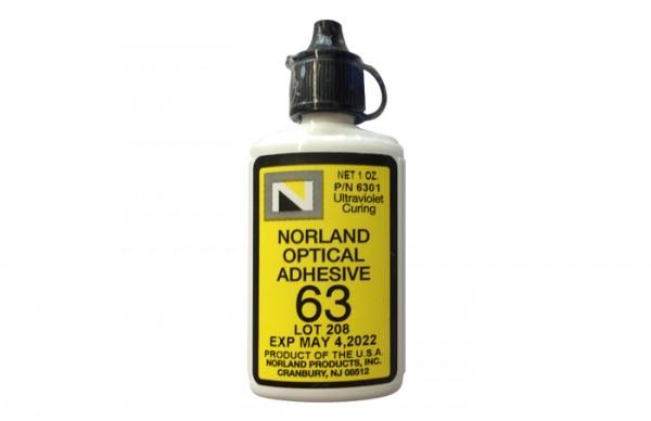 NOA 63 Optical Adhesive 1 oz bottle Norland Products