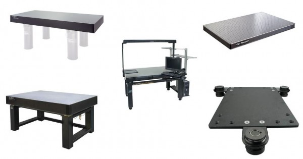 Newport_Tables_&_Isolation-Systems MKS Newport