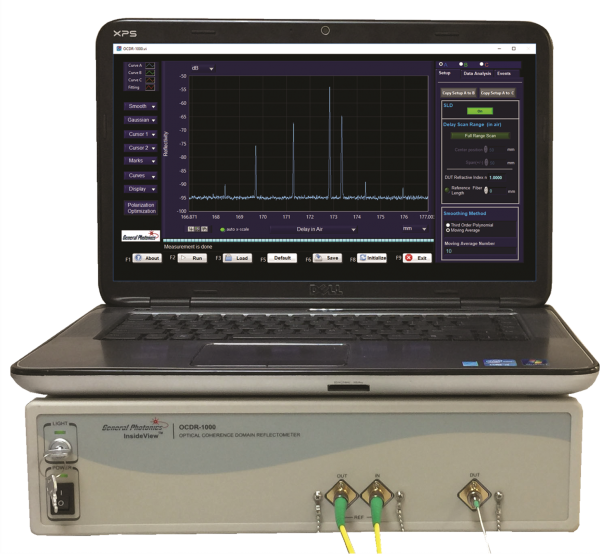 OCDR-1000 Optical Coherence Domain Reflectometer General Photonics