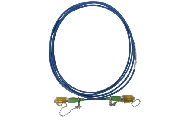 QPMJ-3A3A-400-3 125-3-2-1 PM Patch Cable 1280490 OZ Optics