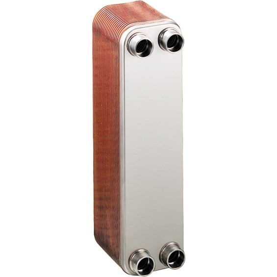 LL810G12 - Liquid-to-Liquid copper brazed plate heat exchanger