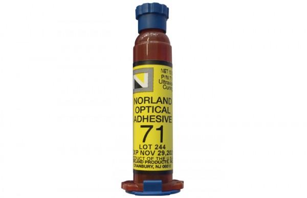 NOA 71 Optical Adhesive 10 g syringe Norland Products