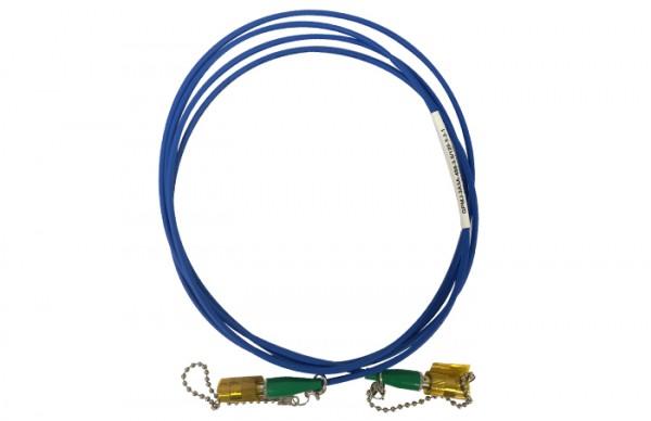 QPMJ-3A3A-488-3-5 125-3-2-1 PM Patch Cable 1280265 OZ Optics