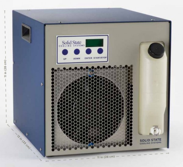 T-Three Thermoelectric Recirculating Chillers Solid State Cooling Systems