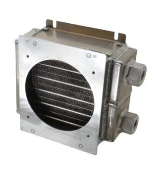 ES0505G23 - ES Series with fan plate for 1 fan, heat exchanger