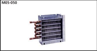 M05-050SB0 Heat Exchanger - OEM Coils - Copper tubes, Aluminum fins, Stub End