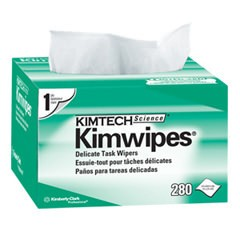 KimWipes 280 Wipes per Box 34155 Connected Fibers