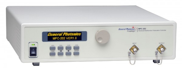 MPC-202 Polarization Controller General Photonics