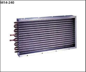 M14-240SB0 Heat Exchanger - OEM Coils - Copper tubes, Aluminum fins without fan plate