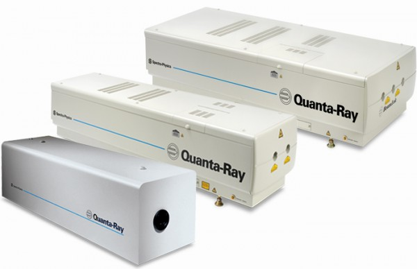 Quanta-Ray High-pulse-energy Nd_YAG Lasers MKS Spectra-Physics