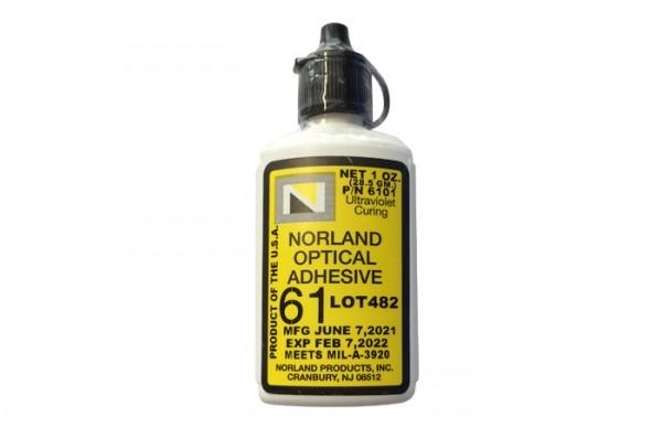 NOA 61 Optical Adhesive 1 oz bottle Norland Products