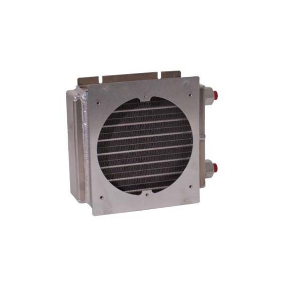 ES0707G23 - ES Series with fan plate for 1 fan, heat exchanger