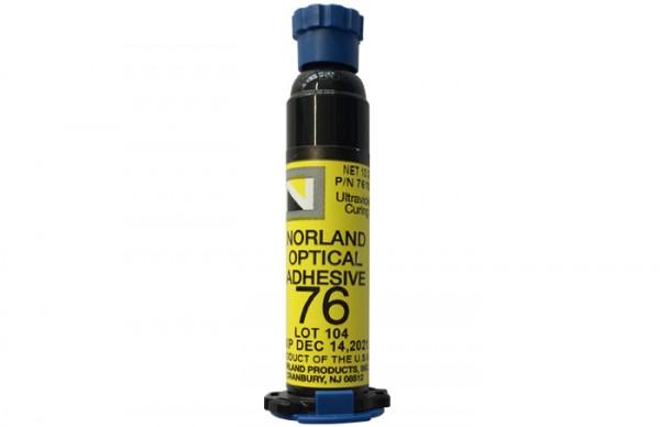 NOA 76 Optical Adhesive 10 g syringe Norland Products
