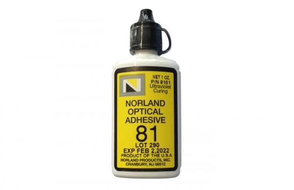 NOA 81 Optical Adhesive 1 oz bottle Norland Products