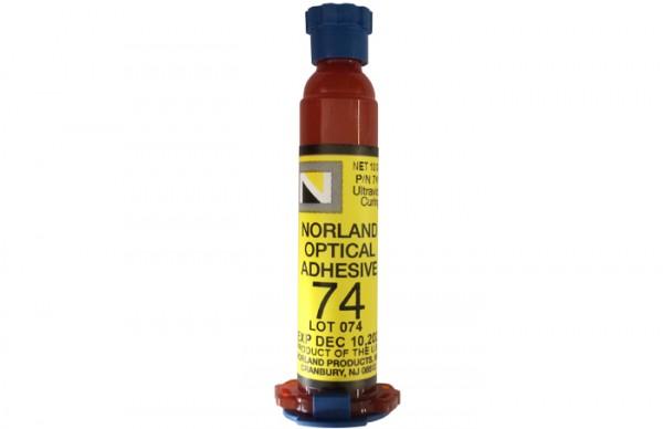 NOA 74 Optical Adhesive 10 g syringe Norland Products