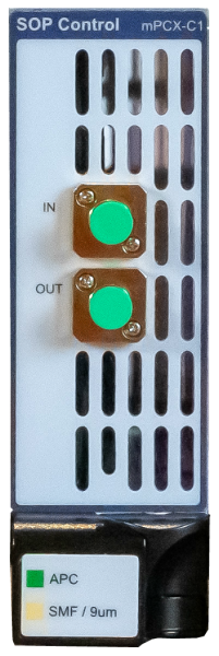 mPCX-C1 MAP Benchtop Fiber Polarization Controllers Viavi Solutions