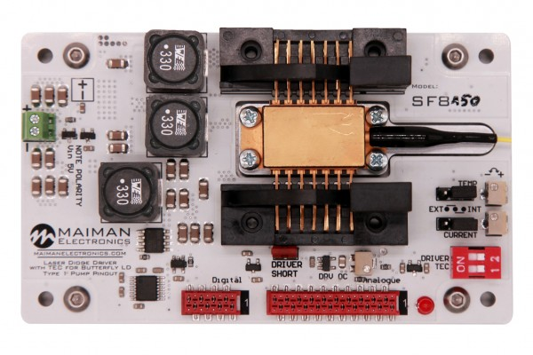 SF8150-ZIF14 Laser Diode Driver and TEC Temperature Controller