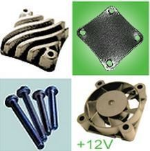 Accessories Thermal Solution Kit (incl WHS302, WTW002, WXC305 and WXC304 for 12V) - WEV302