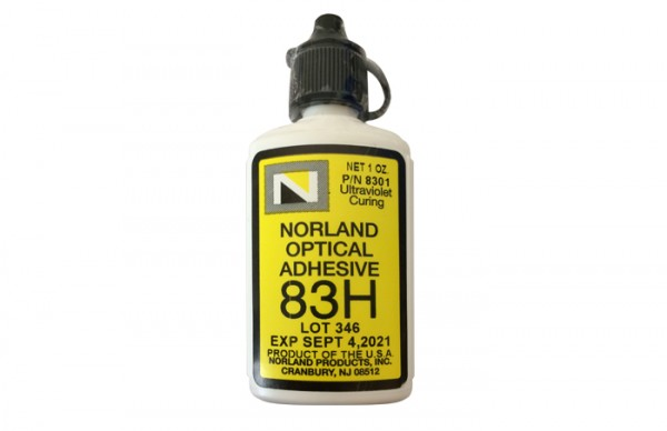 NOA 83H Optical Adhesive 1 oz bottle Norland Products