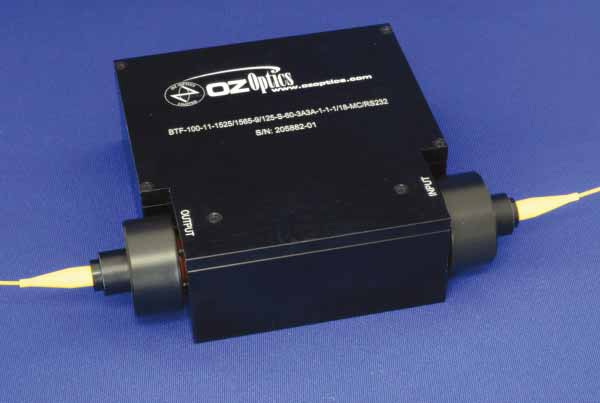 BTF-100 Motor Driven Variable Bandwidth Tunable Filters OZ Optics