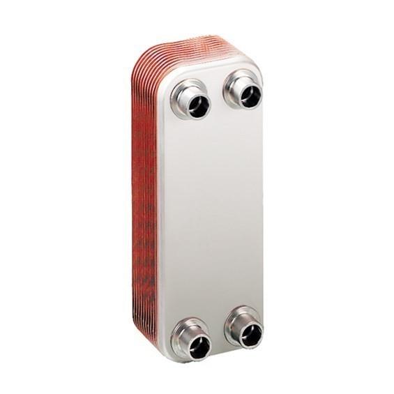 LL510G12 - Liquid-to-Liquid copper brazed plate heat exchanger
