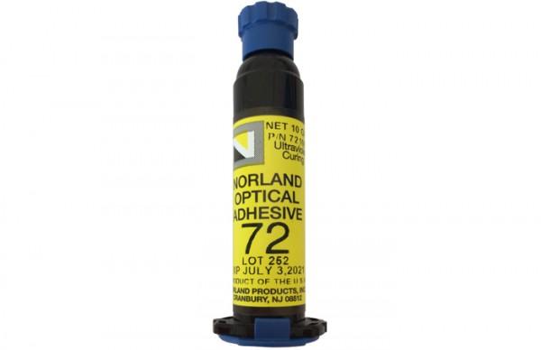 NOA 72 Optical Adhesive 10 g syringe Norland Products